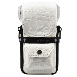 Estuche KRYSTAL COLORS-Croco White