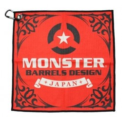 TOALLA MONSTER ROJA