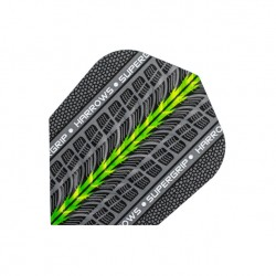Plumas Harrows ANCHA Supergrip VERDE