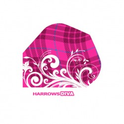 Plumas Harrows Diva ESTAMPADA