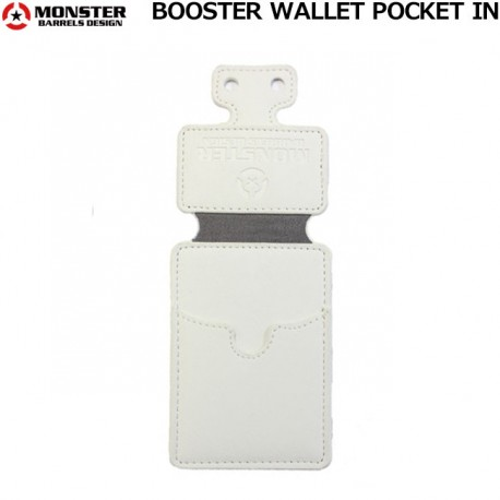 Monster Pocket In White