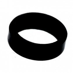 L-ring (Set of 6) Black