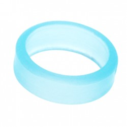 L-ring (Set of 6) Clear Blue