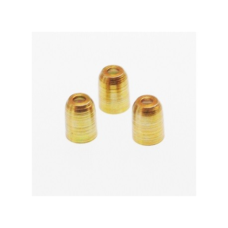 Champagne Ring (Set of 6 Plastic) Metal Gold