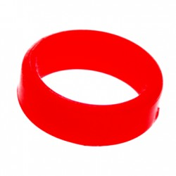 L-ring (Set of 6) Red