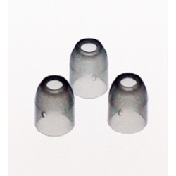 Champagne Ring (Set of 6 Plastic) Clear Black
